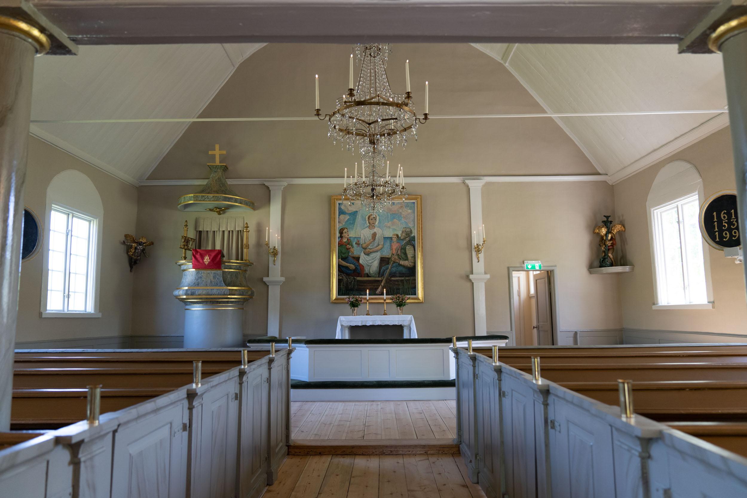 "Ingarö kyrka<br><span style=""color: #0095ac; text-decoration: underline;"">avslutat</span>"